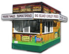 16′ Concession Trailer with Digital Wrap Graphics - Thumbnail